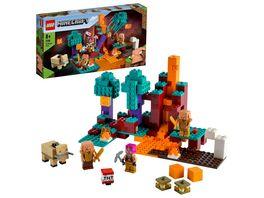 LEGO Minecraft 21168 Der Wirrwald Bauset