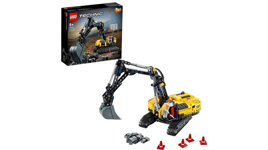 LEGO Technic 42121 Hydraulikbagger, Bauset