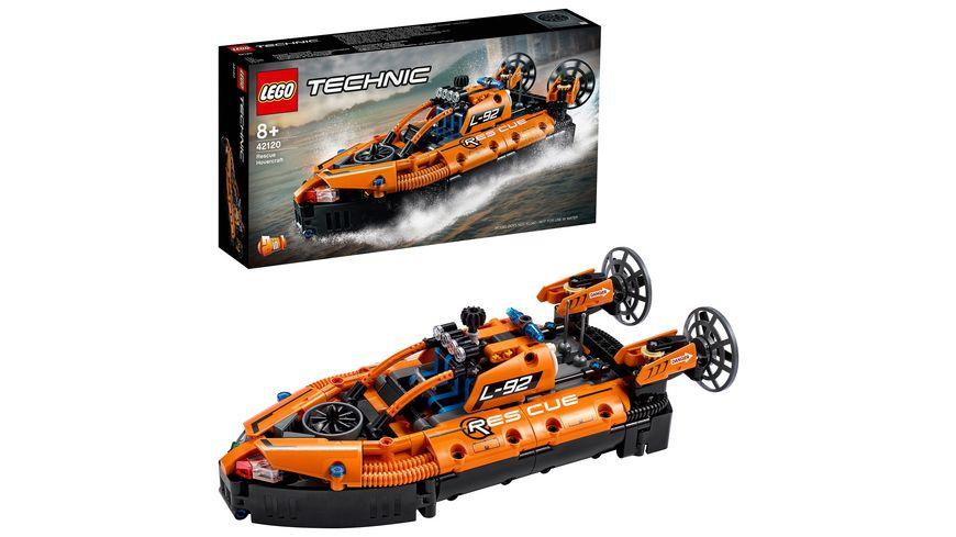 LEGO Technic 42120 Luftkissenboot für Rettungseinsätze, Bauset