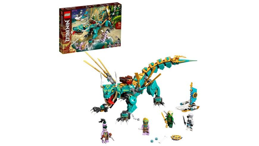 LEGO NINJAGO 71746 Dschungeldrache, Bauset