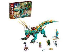 LEGO NINJAGO 71746 Dschungeldrache Bauset