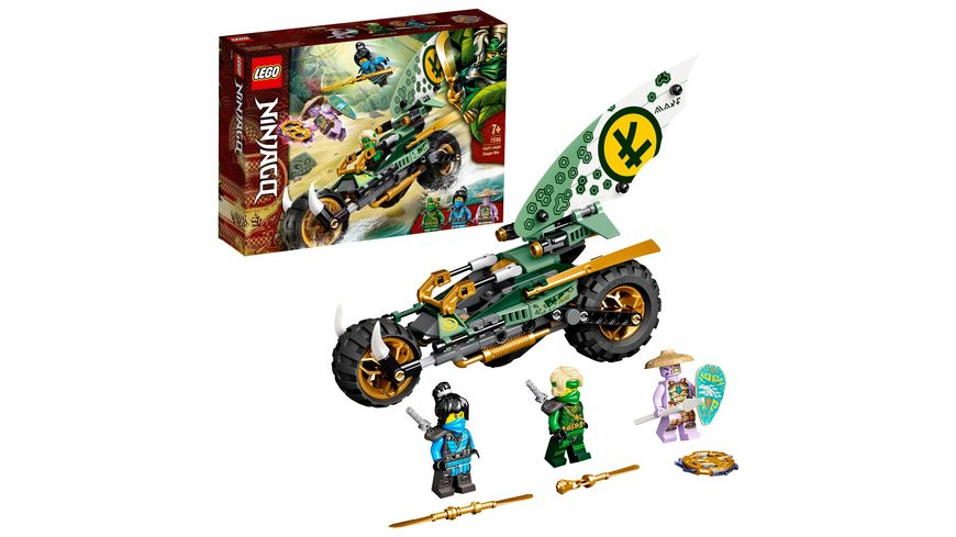 LEGO NINJAGO 71745 Lloyds Dschungel-Bike,  Bauset