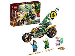 LEGO NINJAGO 71745 Lloyds Dschungel Bike Bauset
