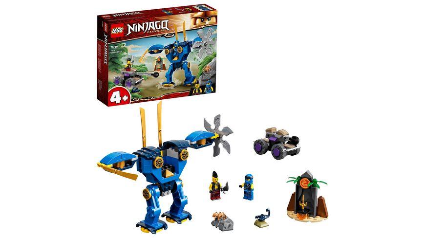 LEGO NINJAGO 71740 Legacy – Jays Elektro-Mech, Bauset
