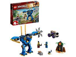 LEGO NINJAGO 71740 Legacy Jays Elektro Mech Bauset