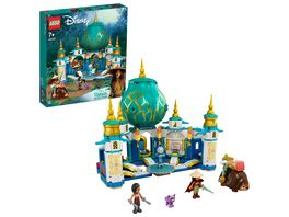 LEGO Disney Princess 43181 Raya und der Herzpalast Bauset