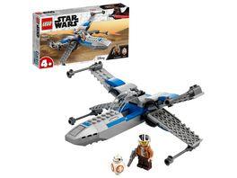 LEGO Star Wars 75297 Resistance X Wing Bauset