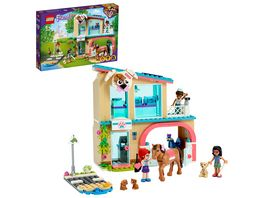 LEGO Friends 41446 Heartlake City Tierklinik Bauset