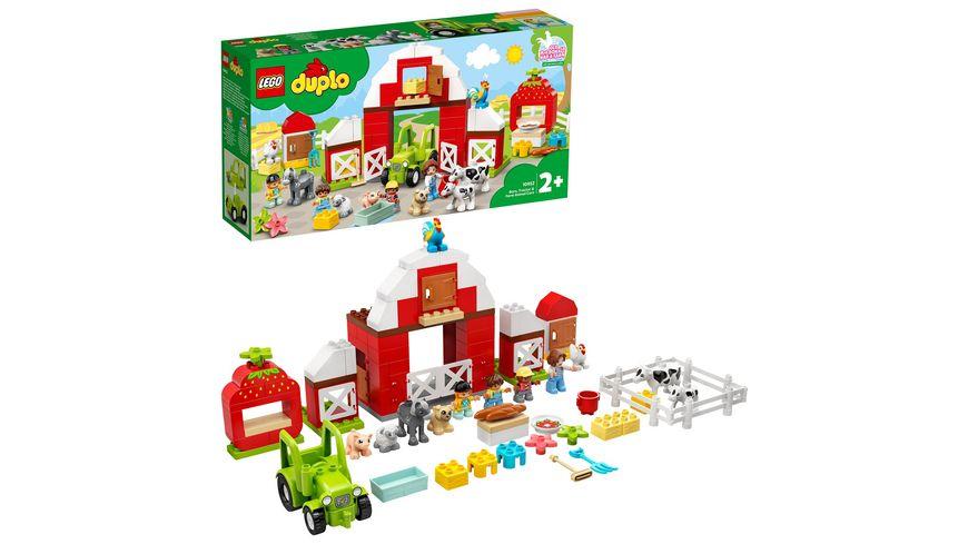 LEGO DUPLO 10952 Scheune, Traktor und Tierpflege, Bauspielzeug