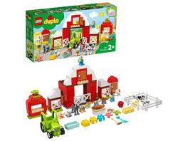 LEGO DUPLO 10952 Scheune Traktor und Tierpflege Bauspielzeug