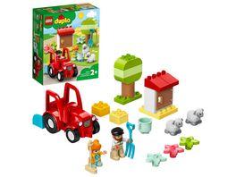 LEGO DUPLO 10950 Traktor und Tierpflege Bauspielzeug