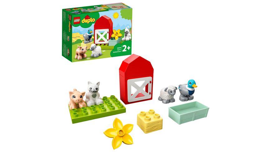LEGO DUPLO 10949 Tierpflege auf dem Bauernhof, Bauspielzeug