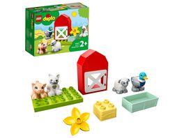 LEGO DUPLO 10949 Tierpflege auf dem Bauernhof Bauspielzeug