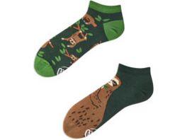 MANY MORNINGS Unisex Sneaker Socken Sloth Life
