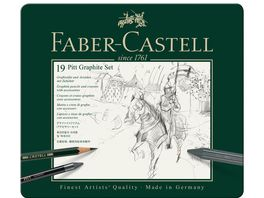 FABER CASTELL Set Pitt Graphite medium Metalletui
