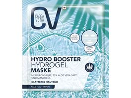 CV HYDRO BOOSTER Hydrogel Maske Aloe Vera Mandeloel