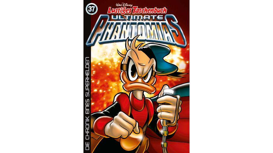 Lustiges Taschenbuch Ultimate Phantomias 37 - Die Chronik eines Superhelden