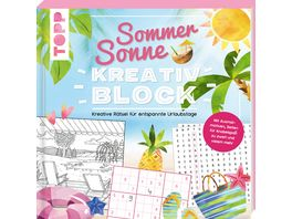 Sommer Sonne Kreativblock