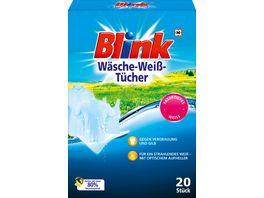 Blink Waesche Weiss Tuecher