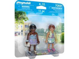PLAYMOBIL 70691 DuoPack Shopping Girls