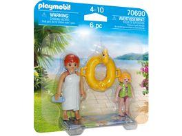 PLAYMOBIL 70690 DuoPack Aqua Park Badegaeste