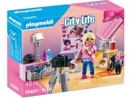 PLAYMOBIL 70607 City Life Geschenkset Social Media Star