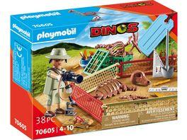 PLAYMOBIL 70605 Dinos Geschenkset Palaeontologe