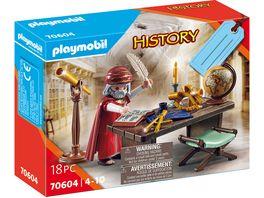 PLAYMOBIL 70604 History Geschenkset Sternengucker