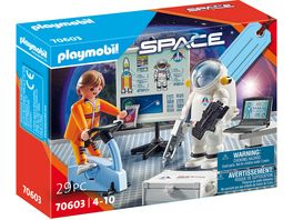 PLAYMOBIL 70603 Space Geschenkset Astronautentraining