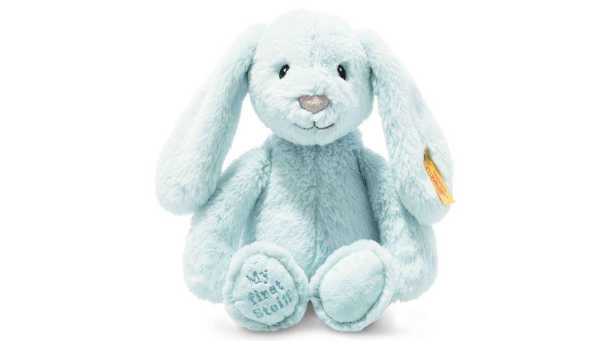 Steiff - Soft Cuddly Friends My first Steiff Hoppie Hase, 26 cm, hellblau