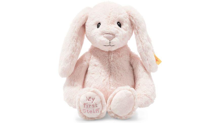 Steiff - Soft Cuddly Friends My first Steiff Hoppie Hase, 26 cm, rosa