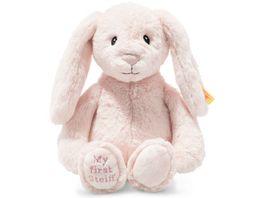 Steiff Soft Cuddly Friends My first Steiff Hoppie Hase 26 cm rosa