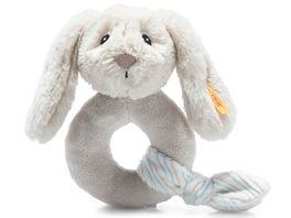 Steiff Soft Cuddly Friends Hoppie Hase Greifling mit Rassel 14 cm