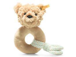 Steiff Soft Cuddly Friends Jimmy Teddybaer Greifling mit Rassel 14 cm