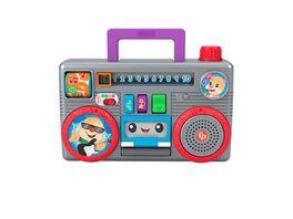 Fisher Price Lernspass Boombox mit Musik Lernspielzeug ab 6 Monaten