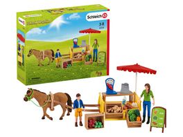 Schleich 42528 Farm World Mobiler Farm Stand