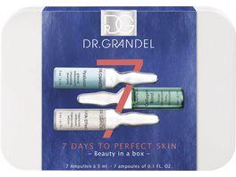 DR GRANDEL Ampullenbox 7 days to perfect skin