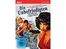 Die Unbefriedigten Les bonnes femmes Ungekuerzte Fassung Claude Chabrols Meisterwerk der NOUVELLE VAGUE Pidax Film Klassiker