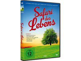 Safari des Lebens 3 DVDs