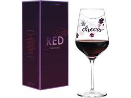 RITZENHOFF Red Rotweinglas L Kuehnertova H18