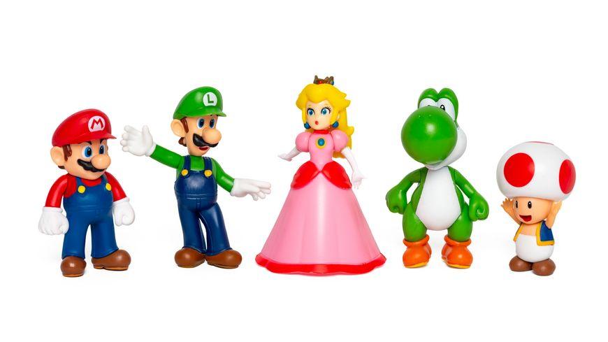 Super Mario - Mario & Friends Multi-Pack (5 Figuren à 6,5 cm)