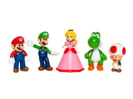 Super Mario Mario Friends Multi Pack 5 Figuren a 6 5 cm