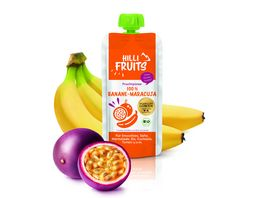 Hilli Fruits Fruchtpueree Banane Maracuja