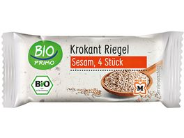 BIO PRIMO Sesam Krokant Riegel