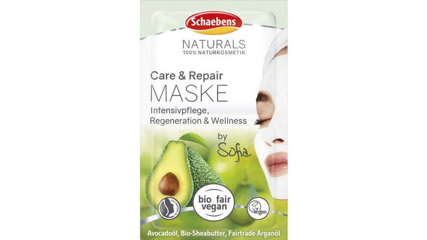 Schaebens Care & Repair Maske, 2x5 ml