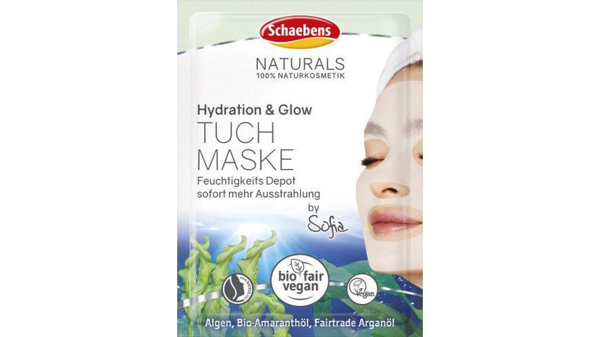 Schaebens Hydration & Glow Tuchmaske