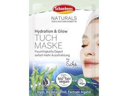 Schaebens Hydration Glow Tuchmaske 1 Stueck