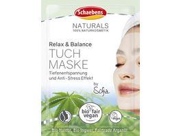 Schaebens Relax Balance Tuchmaske 1 Stueck