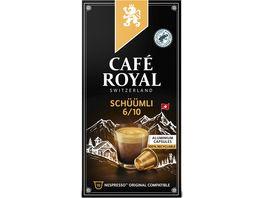 Cafe Royal Switzerland Schueuemli Espresso Kapseln
