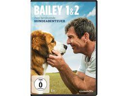 Bailey 1 2 Zwei beruehrende Hundeabenteuer 2 DVDs
